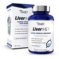 1MD LiverMD - Liver Cleanse Supplement   Siliphos Milk Thistle Extract - Highly...