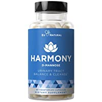Harmony D-Mannose – Urinary Tract UT Cleanse & Bladder Health – Fast-Acting Detoxifying...