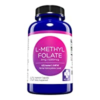 MD. Life L-Methylfolate 5mg – Active Folate 5-MTHF, Professional Strength Methyl...