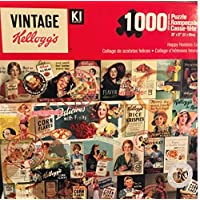 Vintage Kellogg's 1000 Piece Jigsaw Puzzle | Happy Hostess Collage 1950's