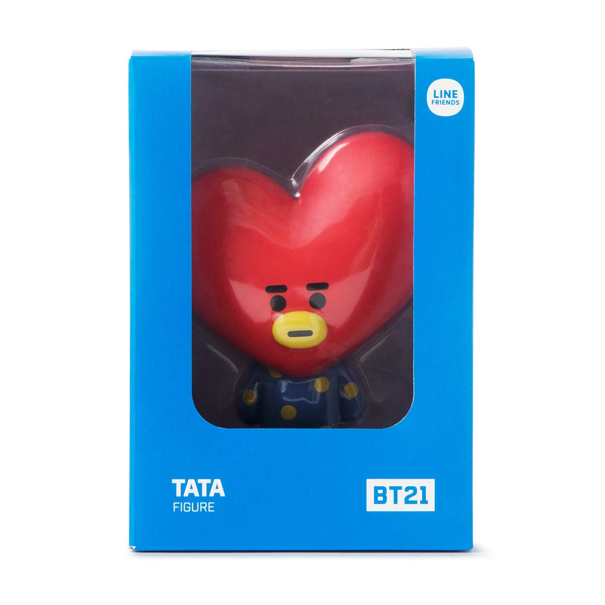BT21 Official Merchandise by Line Friends Light Blue KOYA Character Action Figure Toy Collectible Doll 3 Inch