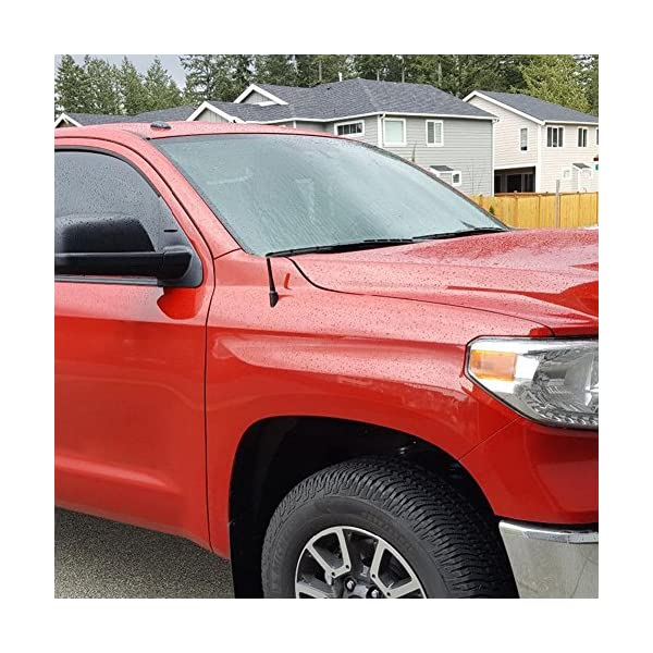 Maxracing Short Aluminum Antenna Compatible with 10 to 2018 GMC Terrain
