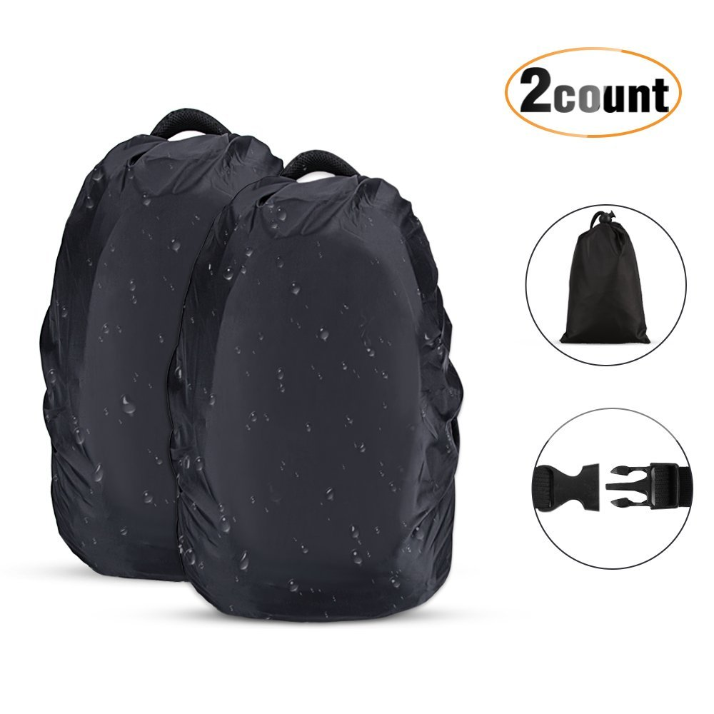 ayamaya Backpack Rain Cover Waterproof Rainproof for 30-65L Ultralight Outdoor Backpack Pack Covers Compact Portable Water Proof Raincover for Backpacking Hiking Camping Traveling Cycling
