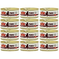 Hi-Tor 12 Pack of Veterinary Select Neo Diet for Cats, 5.5 Ounce Cans, for Kidney Health