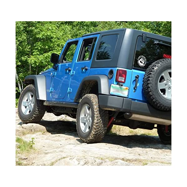 5.8 Inches Diameter with White Graphics for Rear Glass Window /… White Vinyl Decal Car Sticker for Jeep Enthusiasts Yours May Go Fast But Mine Can Go Anywhere