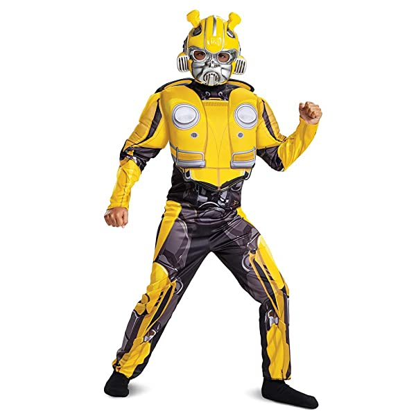 Toddler BUMBLBEE Transformers Age of Extinction Movie Muscle Halloween Costume