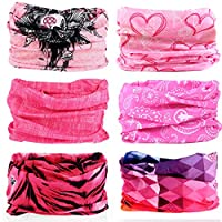LUJXN Adult Anti-Dust Mouth Cover Elastic Pattern Multi Usage Face Cover Up Adjustable Earloop Dust Face Cover