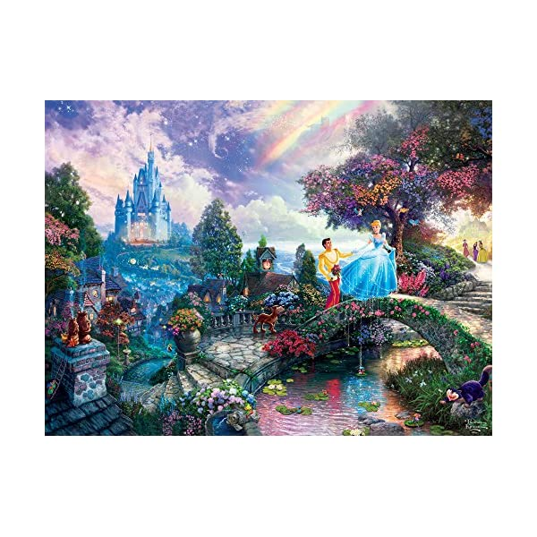 1500Piece Ceaco 3401-42 Disney Beauty /& The Beast Dancing in The Moonlight Puzzle