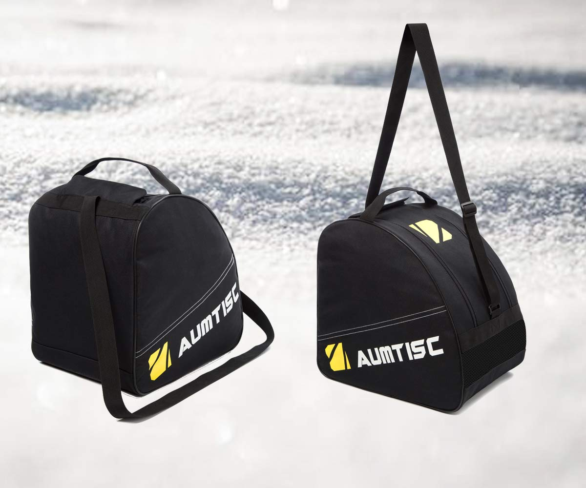 AUMTISC Snowboard Bag for Travel Bag with Storage Compartments Shoulder Strap and Gear Pockets Available Length in 155cm 165cm