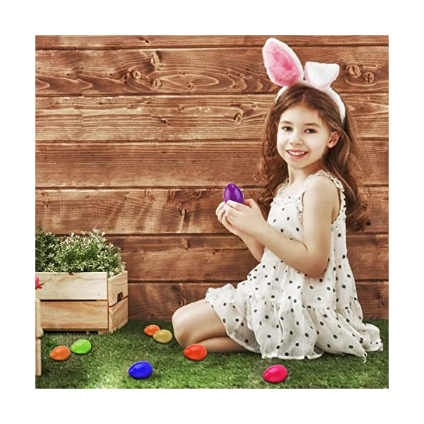 Makes 13 Unomor Easter Headband Craft Kit with Bunny Ears Crafts for Kids as Easter Gift for Easter Decoration