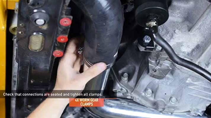 BETTERCLOUD Intake Charge Pipe Upgrade Kit Fit for 2012-2016 BMW M2 M235i 335i 435i N55 F20 F30 RWD