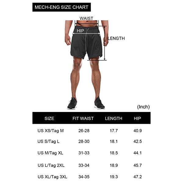 PIDOGYM Mens Athletic Running Legging Shorts 2 in 1 Compression Tights Pants for Workout Gym