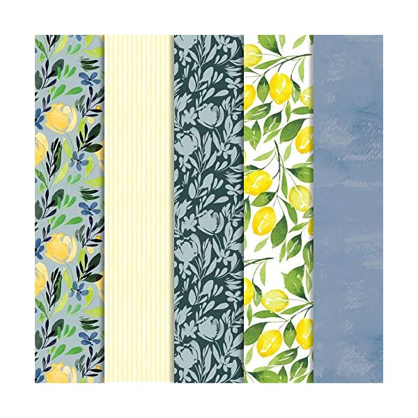 By Design 10 ct DIY Craft Paper for Scrapbooking and other Art Projects Cricut Joy Adhesive-Backed Deluxe Paper
