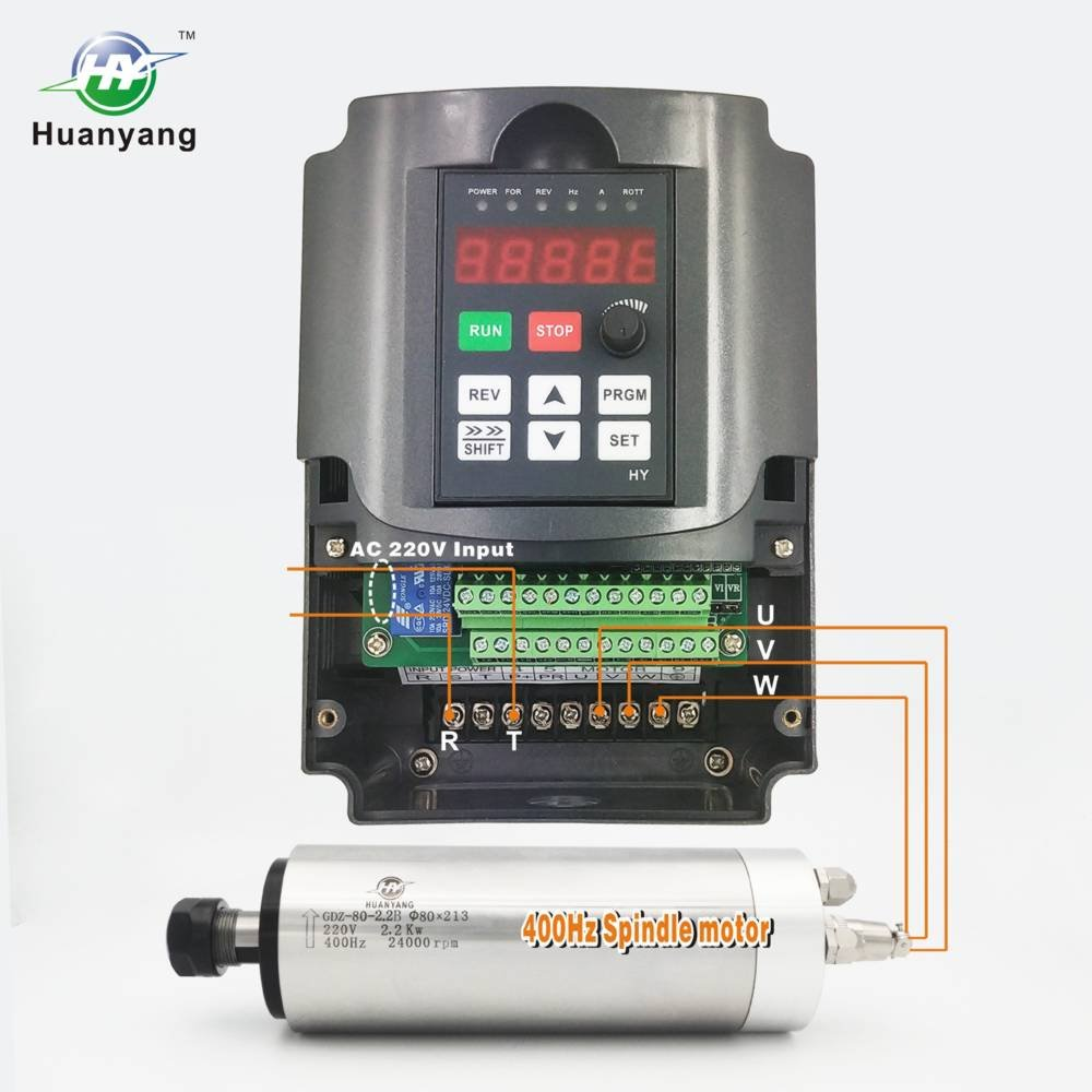 Litorange Vector /& PG Torque Control VFD 1 Single Phase 220V 3.7KW 5HP Variable Frequency Drive CNC VFD Motor Drive Inverter Converter for Spindle Motor Speed Control.