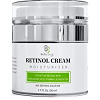 Retinol Moisturizer Anti Aging Cream for Face and Eye Area - With Hyaluronic Acid...