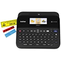 Brother P-touch Label Maker, PC-Connectable Labeler, PTD600, Color Display, High-Resolution...
