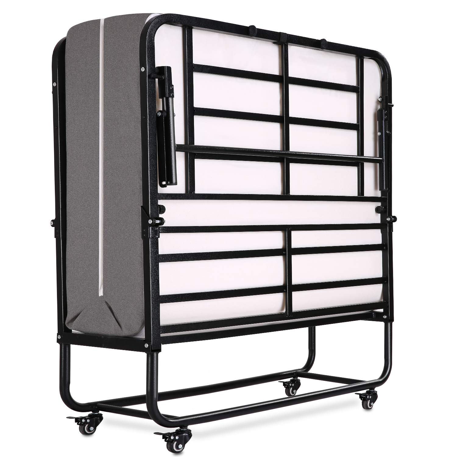 Folding Bed Rollaway With Mattress