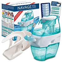 Navage Nasal Hygiene Essentials Bundle: Navage Nose Cleaner, 40 SaltPod Capsules...