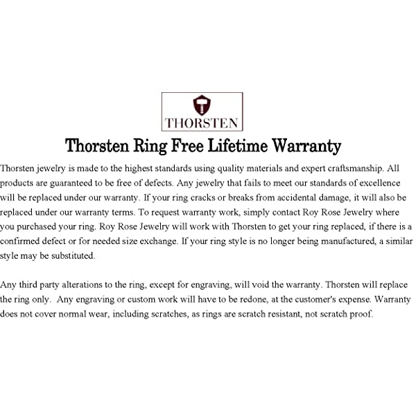 Thorsten Wolf Track Prints Animal Tracks Wolf Print Black Flat Tungsten Ring 8mm Wide Wedding Band from Roy Rose Jewelry