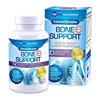 Calcium Supplement (Citrate & Hydroxyapatite 1000mg) for Complete Bone Health +...