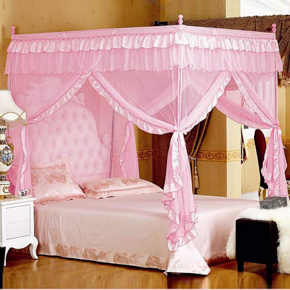 - Mua Princess 4 Corners Post Bed Curtain Canopy Netting (Queen