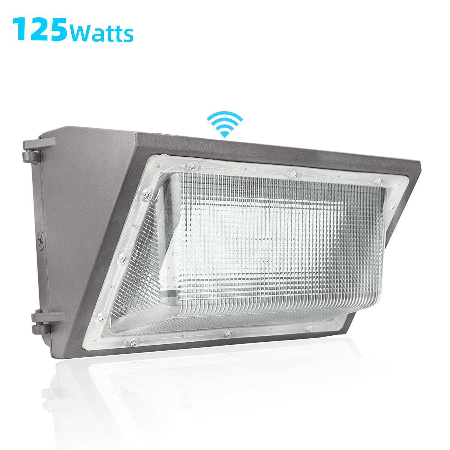 120W LED Wall Pack with Photocell Dusk to Dawn Outdoor Wall Light 840W HPS//HID Equivalent 5000K 16940Lm LED Flood Light Commercial and Industrial LED Lights for Parking Lots Apartments Warehouses