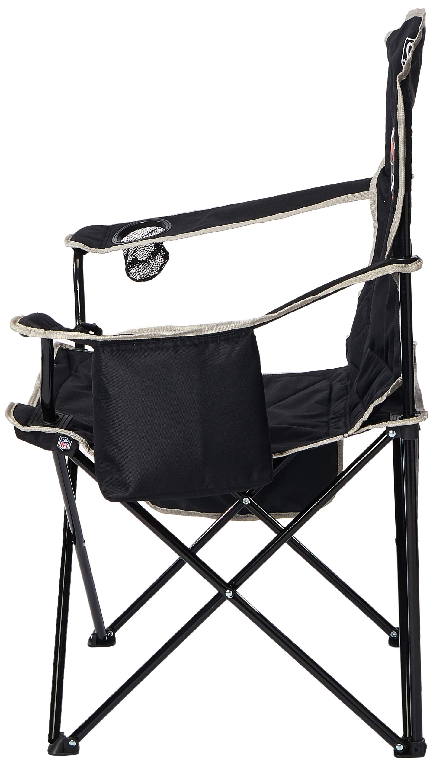 Coleman NFL Cooler Quad Folding Tailgating /& Camping Chair with Built in Cooler and Carrying Case All Team Options