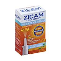 Zicam Cold Remedy Nasal Spray with Cooling Menthol & Eucalyptus, 0.5 Ounce
