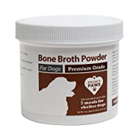 Project Paws Bone Broth for Dogs with Powdered Elk Antler and Bone - Collagen and...