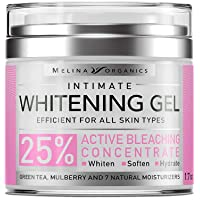 Bleaching Cream for Intimate Areas - Made in USA - Potent Whitening Cream with Arbutin...