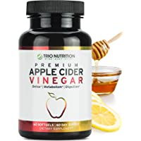 Apple Cider Vinegar Capsules with The Mother | Immune Support Booster | Maximum...
