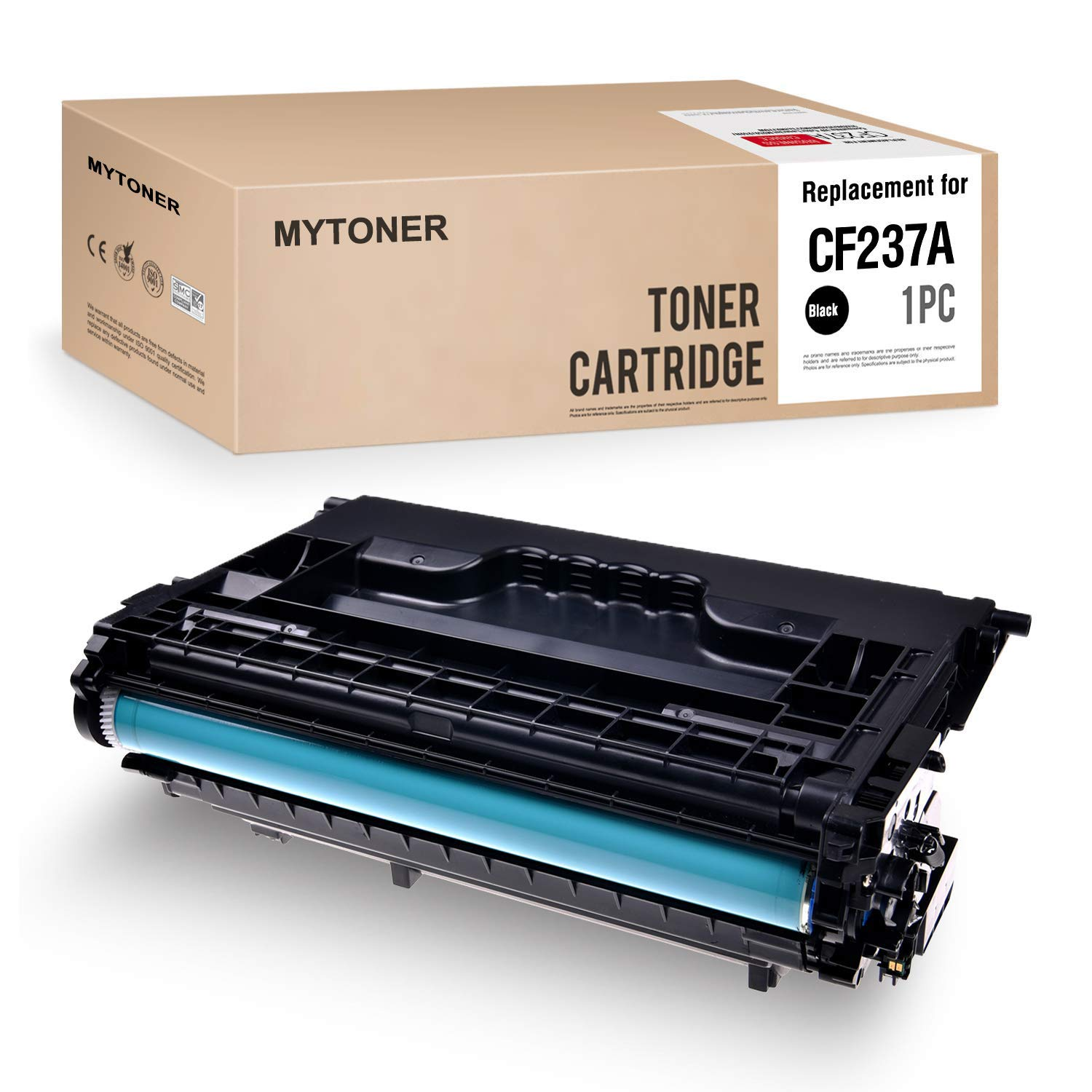 NYT Compatible MICR Toner Cartridge Replacement for CE390A for HP Laserjet Enterprise M4555f MFP M4555fskm MFP M4555h MFP Black,2-Pack