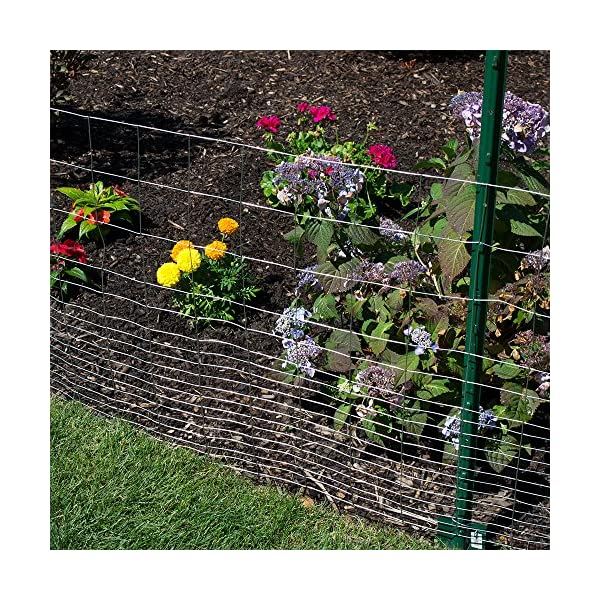 YARDGARD 308357A Fence Color Green Height-36 Inches x Length-50 Ft
