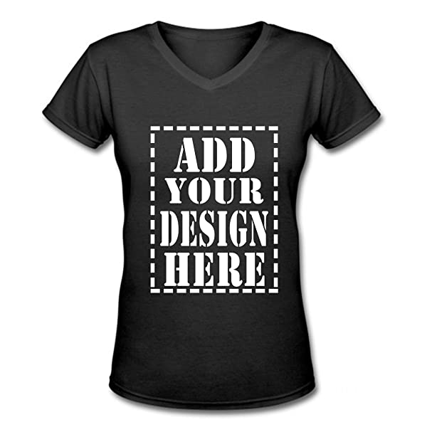 Mua Personalized V Neck T Shirts For Women Make Your Own Shirt