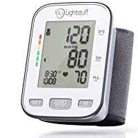 Lightstuff Easy Digital Blood Pressure Monitor with Irregular Heart Beat Indicator...