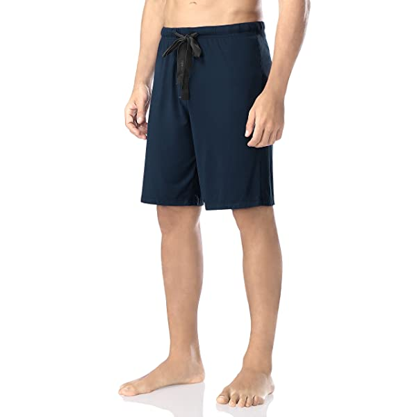 DAVID ARCHY Mens Soft Comfy Cotton Knit Sleep Shorts Lounge Wear Pants in 1 or 2 Pack