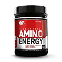 Optimum Nutrition Amino Energy - Pre Workout with Green Tea, BCAA, Amino Acids,...