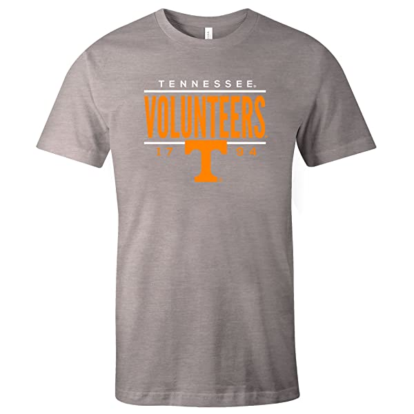 Image One NCAA Unisex-Adult NCAA Dotted Phrase Short Sleeve Triblend T-Shirt