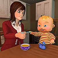 Mother Simulator 3D: Virtual Baby Simulator Happy Family Mom Games