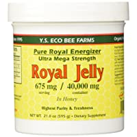 YS Royal Jelly/Honey Bee - Royal Jelly in Honey Ultra Strength, 21 oz Gel (Pack...