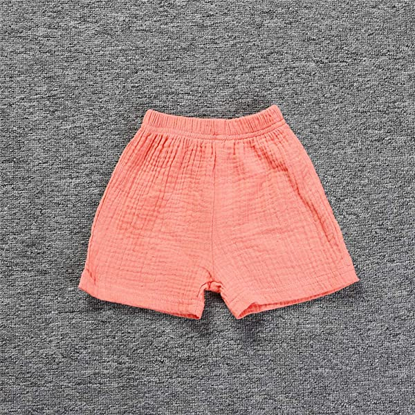 LOOLY Unisex Baby Boys Girls Cotton Plain Shorts Kids Casual Short Pants