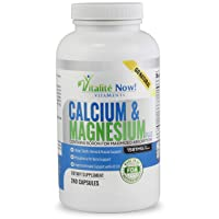 Best Calcium & Magnesium + Vitamin D3 400 IU - Highly Absorbable with Boron - 10...