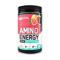 Optimum Nutrition Amino Energy + Collagen Powder - Vitamin C for Immune Support,...