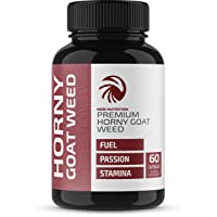 Nobi Nutrition Premium Horny Goat Weed Pills for Men and Women - Fuel, Passion and...