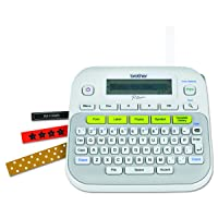 Brother P-touch, PTD210, Easy-to-Use Label Maker, One-Touch Keys, Multiple Font...