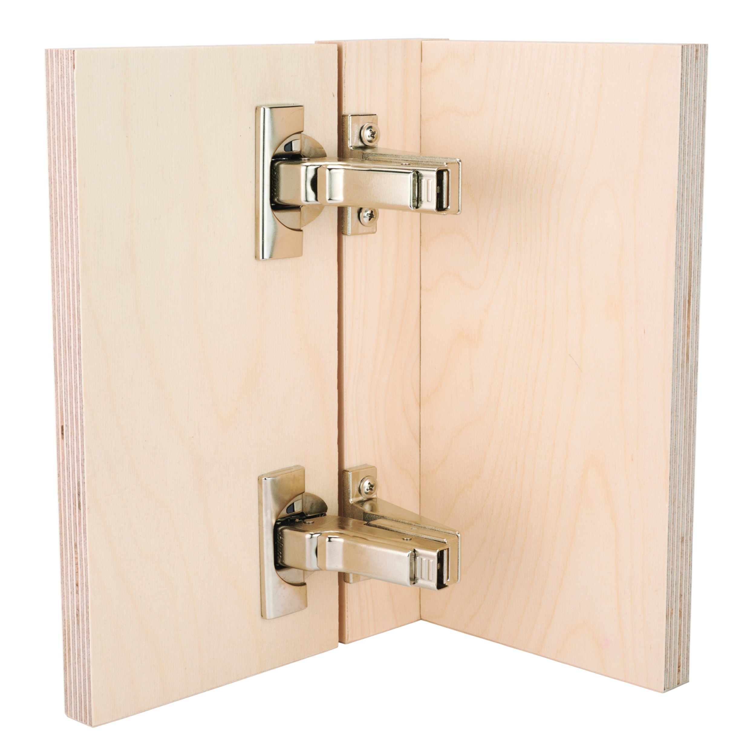 Overlay 3//4, Hinges 2 Face Frame 3//4 Woodcraft Supply PW