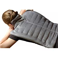 Premium Heated Herbal Hot/Cold Therapy Neck, Shoulder and Back Wrap - 16