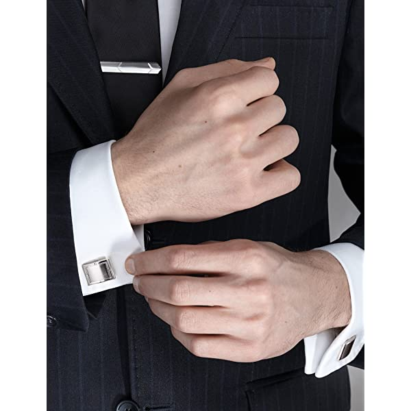 Yoursfs Mens Funny Tie Clips Formal Fashion Shape Tie Clips Business Suit Accessories