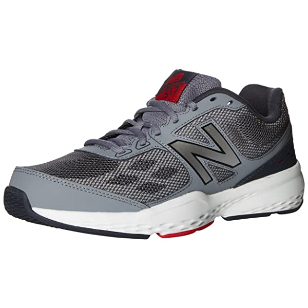 New Balance Mens MX517v1 Training Shoe Black 9.5 4E US