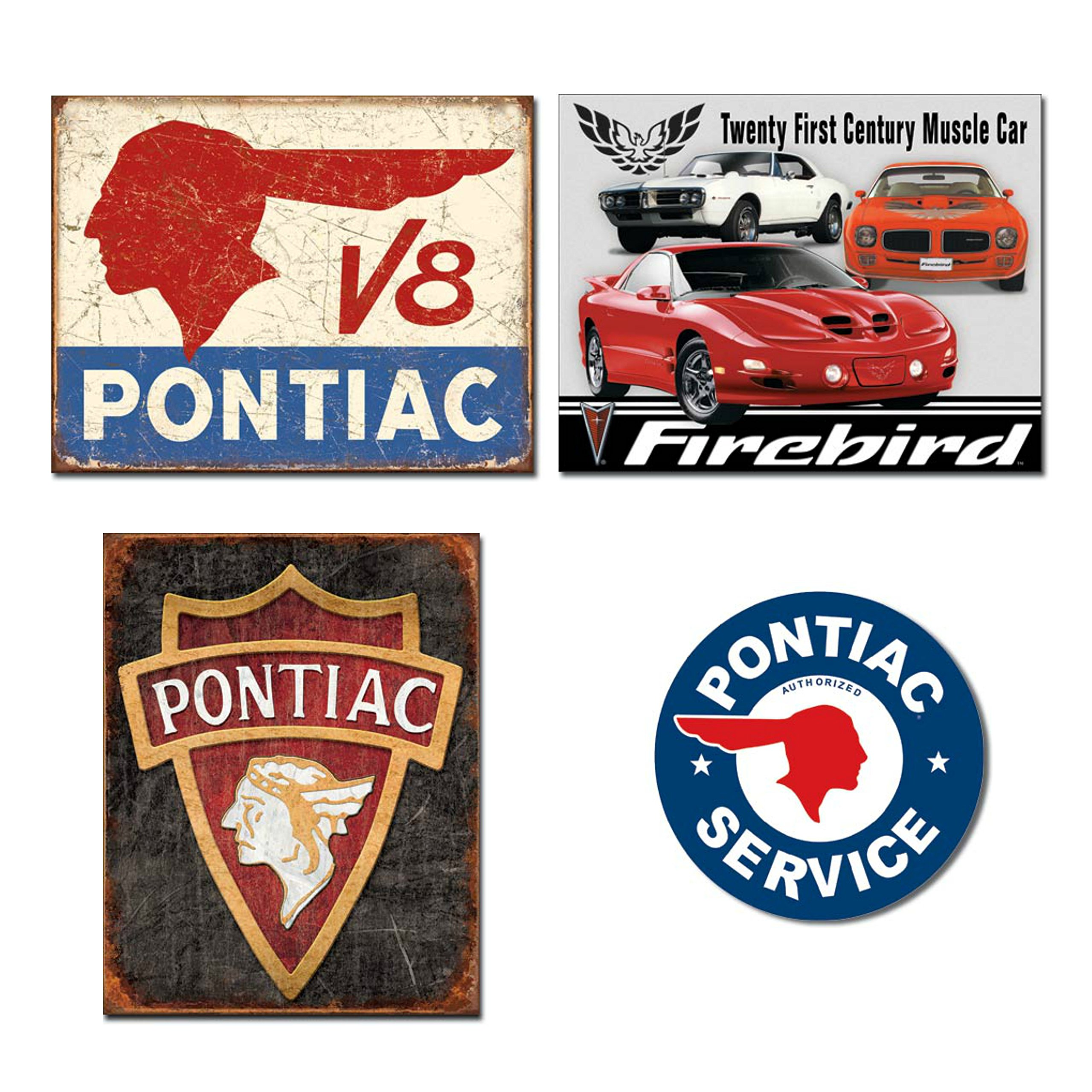 HTFDS 1965 Pontiac GTO Convertible Vintage Look Reproduction Metal Tin Sign 8x12 inches